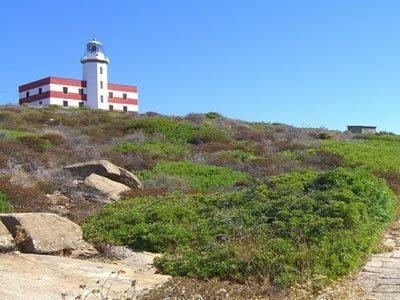 Faro di Capel Rosso all'Isola del Giglio