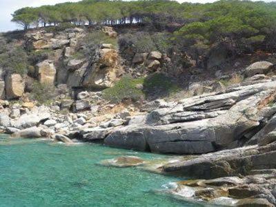 Cala di Sparavieri all'Isola del Giglio