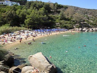 Spiaggia delle Caldane all'Isola del Giglio