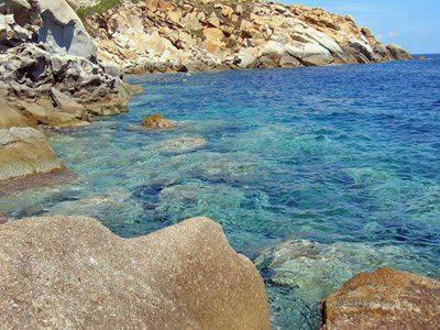 Mare Isola del Giglio - Campeggi ed alberghi Isola del Giglio