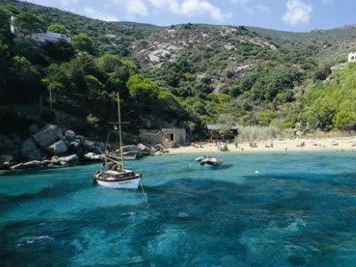 Area di pesca lungo la costa gigliese - Pesca Isola del Giglio