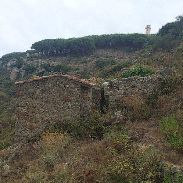 Annesso da ristrutturare e terreno in vendita ad Isola del Giglio Campese