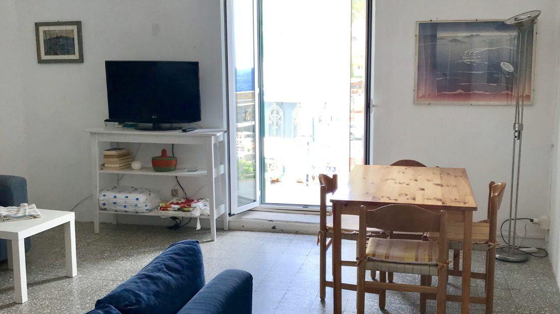 Sala principale del bilocale Silvia in affitto a Giglio Porto