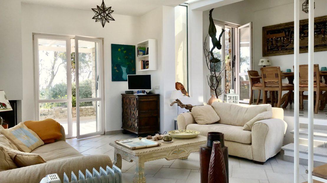 Villa Giulia in Affitto e Vendita a Giglio Porto, foto del salone