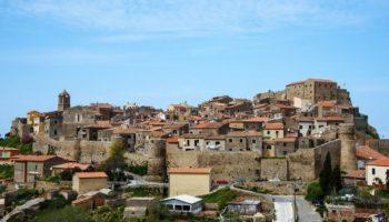 Foto panoramica di Giglio Castello