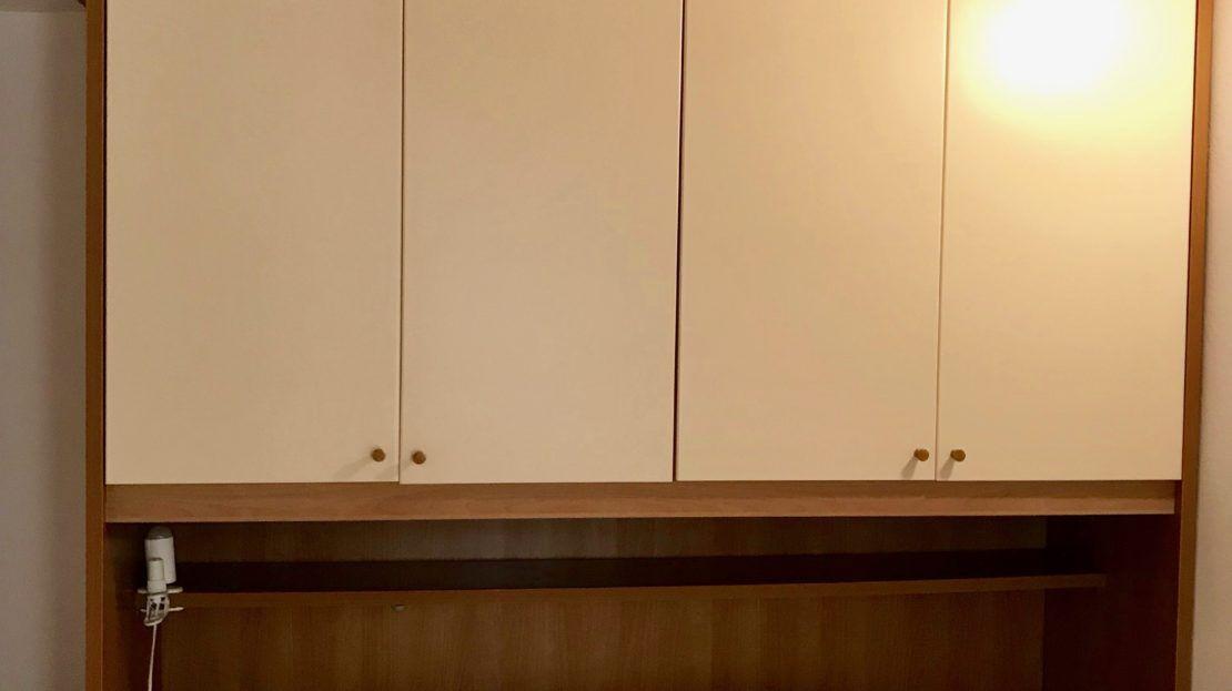 appartamento Violetta disponibile in affitto nella località di Giglio Porto, foto del letto matrimoniale