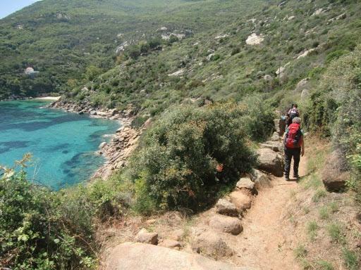 sentieri per escursioni e trekking all'Isola del Giglio